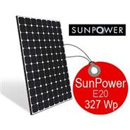 SUNPOWER E20 solarni panel 327W
