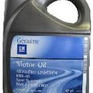GM  GENUINE  MOTOR OIL  10W--40   5 L
